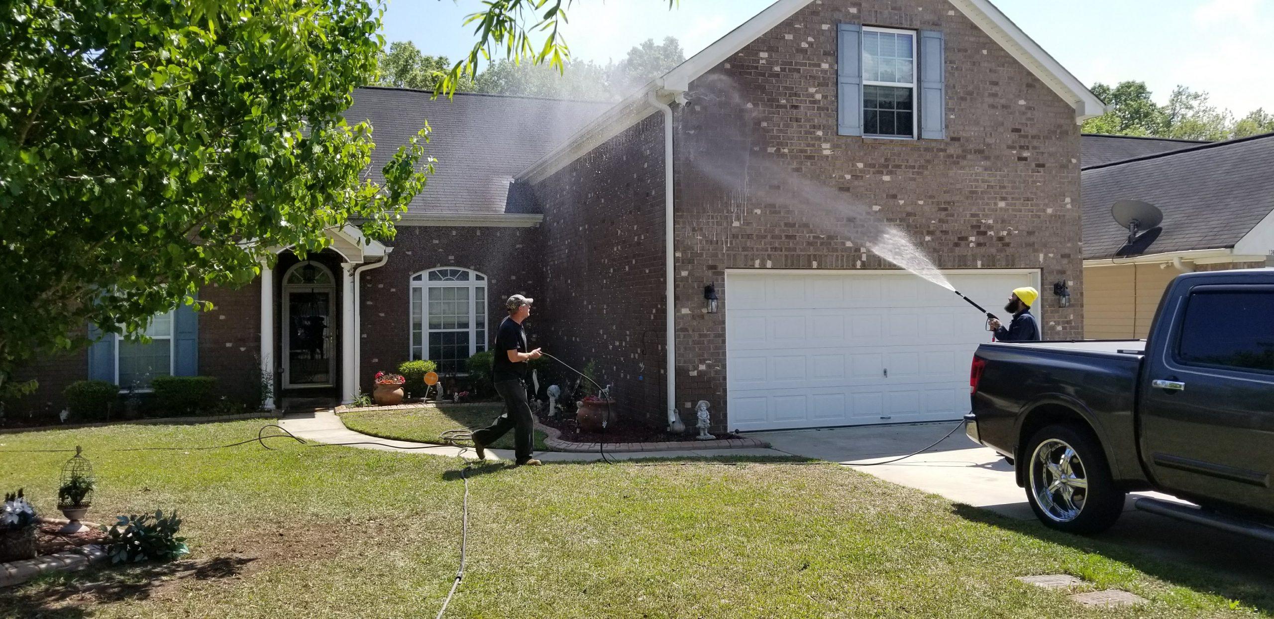 House Washing Services - Pressure Washing - Savannah, GA