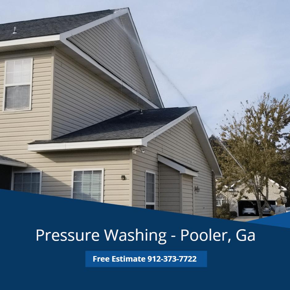 Pooler Pressure Washing Savannah Ga