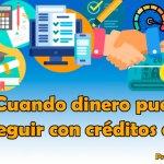 Para este tipo de créditos, denominados comúnmente minicréditos, podemos solicitar cantidades desde 50 a 1000 euros.