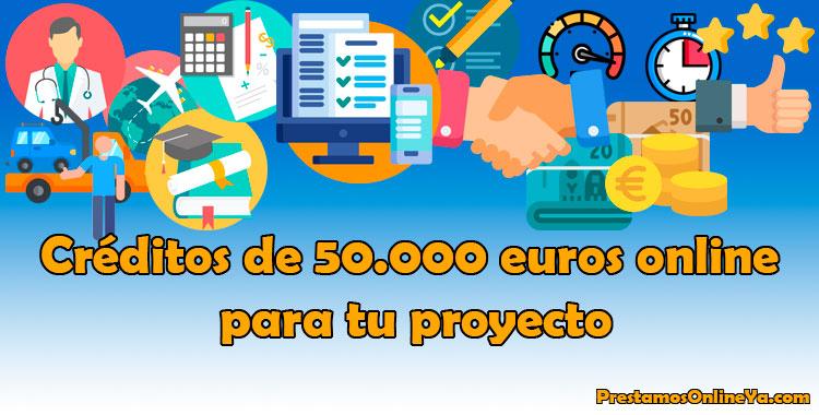 Si quieres emprender un nuevo proyecto, ya sea profesional o de estudios y necesitas 50.000 euros, podemos ayudarte.
