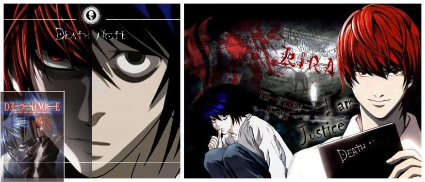 L vs Kira Death Note