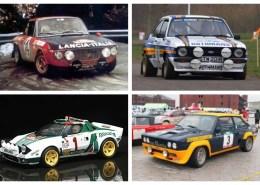 Rally Cars 70-80's