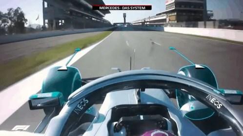 Mercedes test 2020