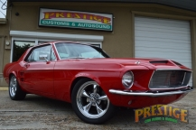 1967 Ford Mustang Red