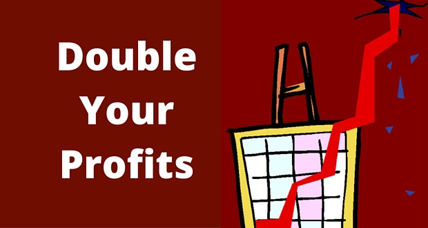 Double-Your-Profits-7 Double Your Business Profits By Making Small Changes