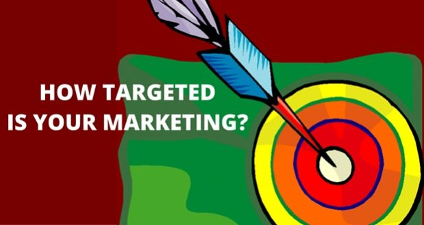 HOW TARGETED IS YOUR BUSINESS MARKETING? IS YOUR MARKETING REACHING YOUR TARGET CUSTOMERS