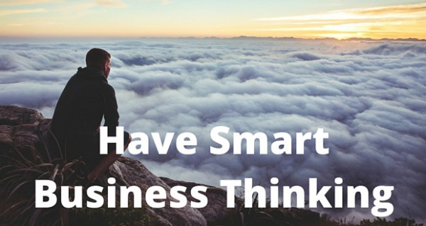 Have the power of thinking & smart business thinking to boost your success