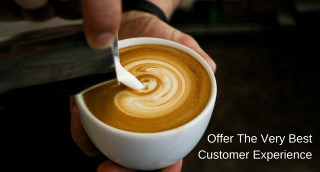 Offer-The-Very-BestCustomer-Experience Customers & Products