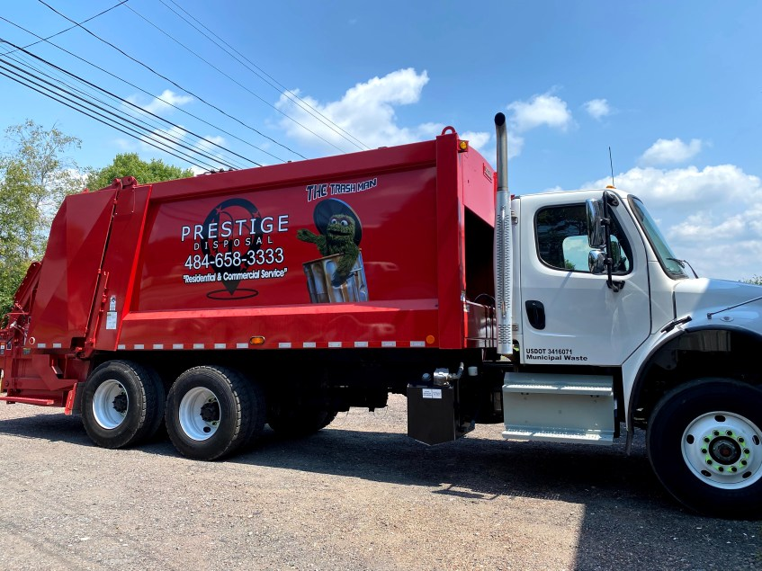 Garbage Hauler in Wilkes-Barre, Pennsylvania Commercial Dumpster Services Residential Trash Collection