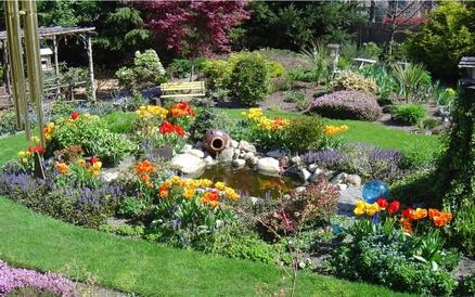 Comment créer un massif de fleurs dans un jardin maison