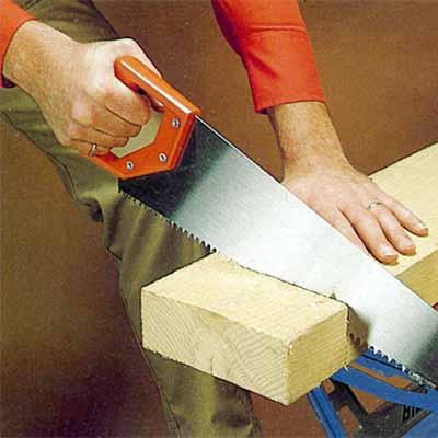 entretenir un scie pour couper un madrier. Black Bedroom Furniture Sets. Home Design Ideas