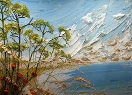 peinture en relief