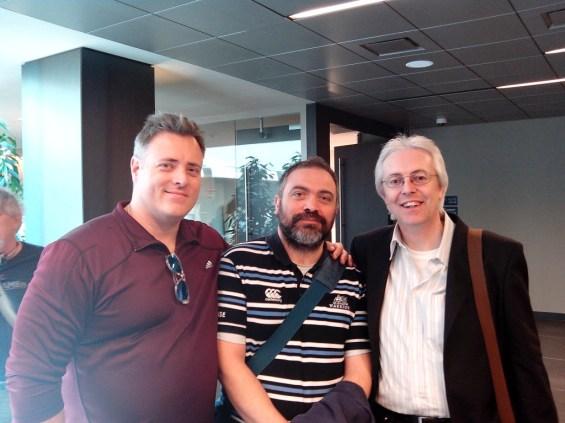 Jason England e Gianfranco Preverino