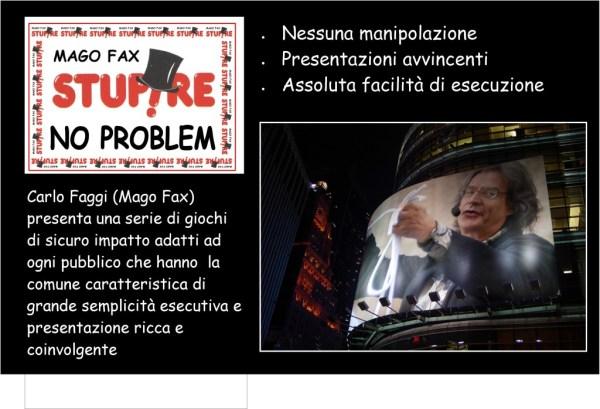 mago fax stupire