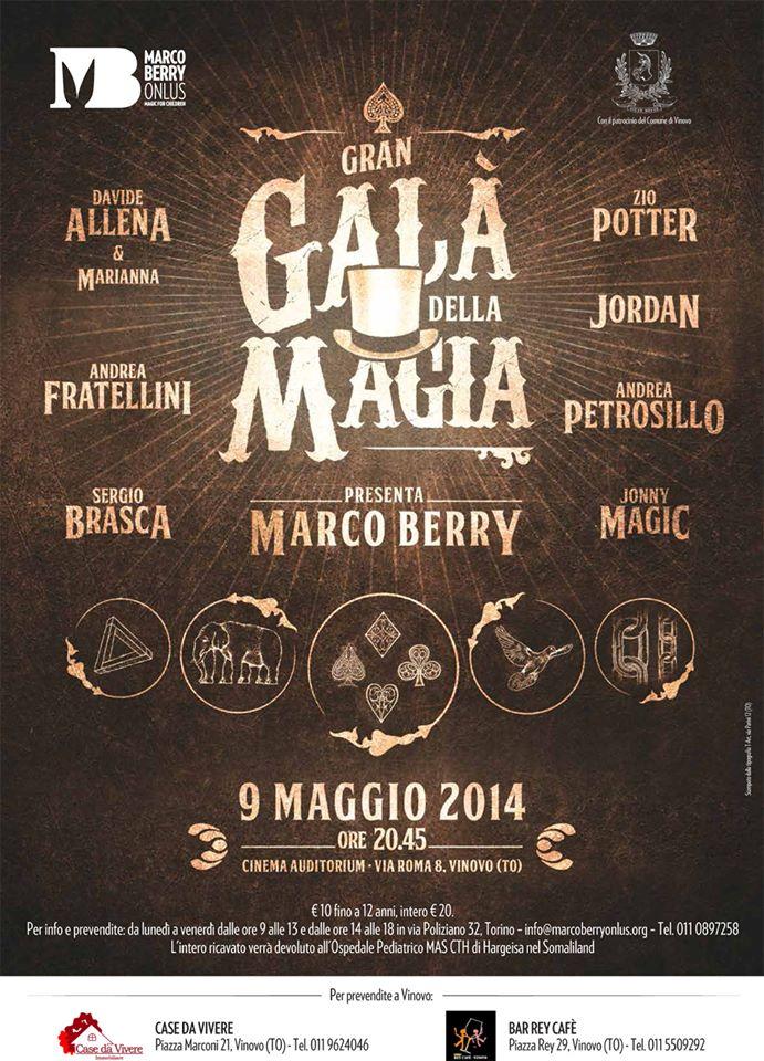 gran gala magia 2014 vinovo
