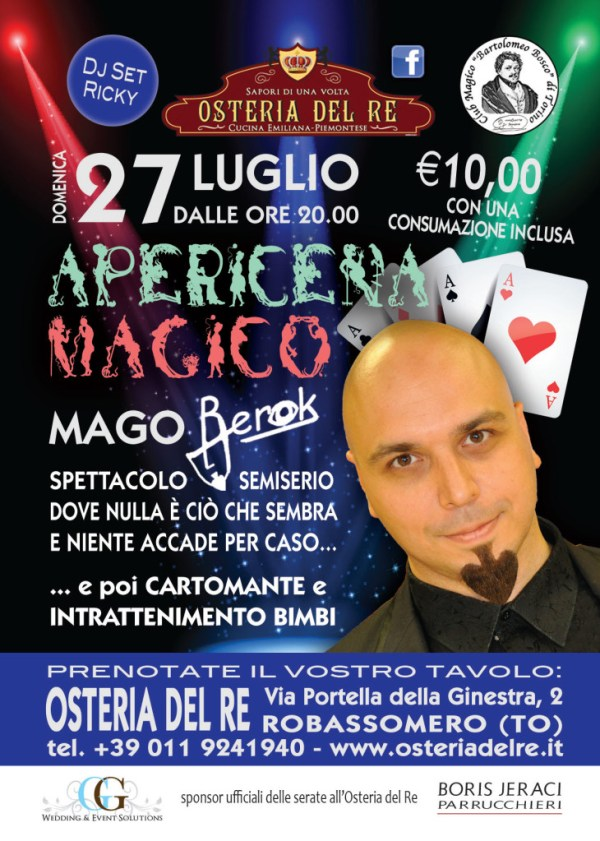 Apericena Magico all'Osteria del Re 2014 berok