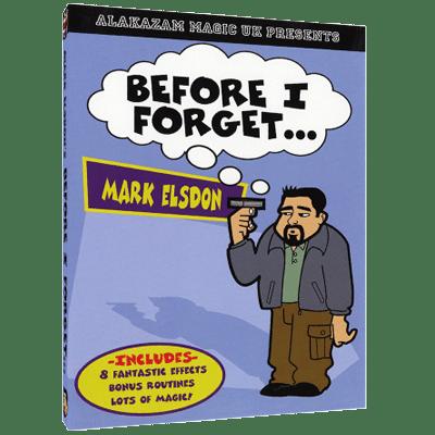 before i forget mark elsdon
