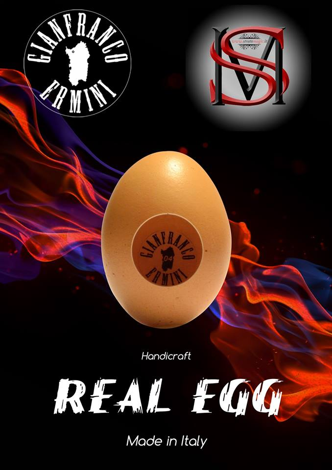 real egg front