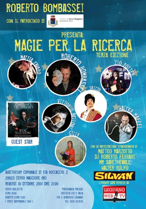 MAGIE PER LA RICERCA 2014