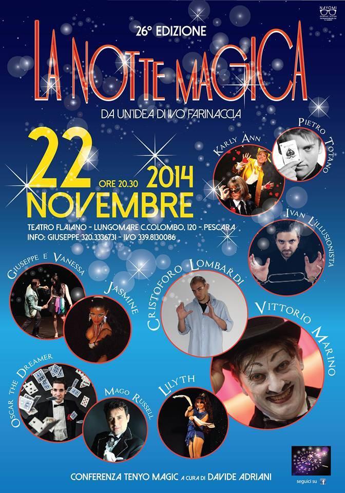 la notte magica 2014