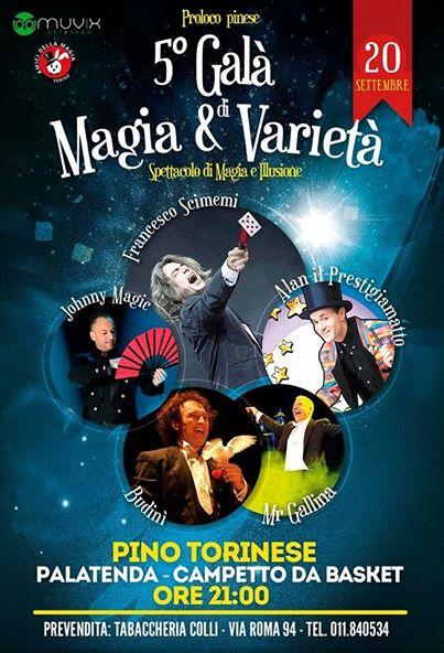 5 gala magia pino torinese 2014