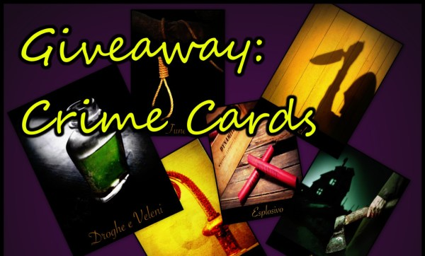 Crime Cards Giveaway