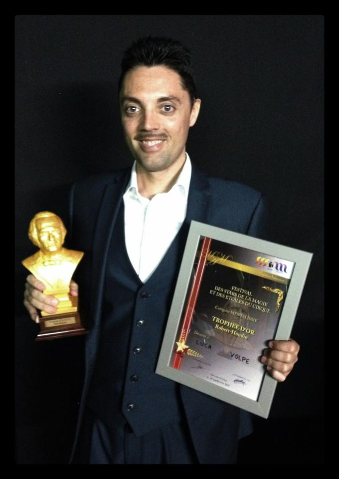 luca volpe houdin d'or 2015