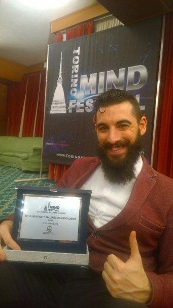 Vanni De Luca Campione Italiano di Mentalismo 2015