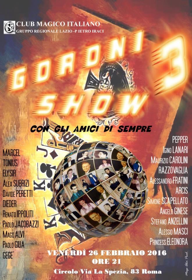 goroni show 3