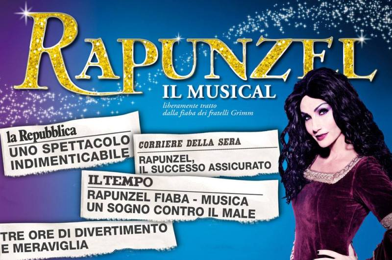 rapunzel 2016  lorella cuccarini