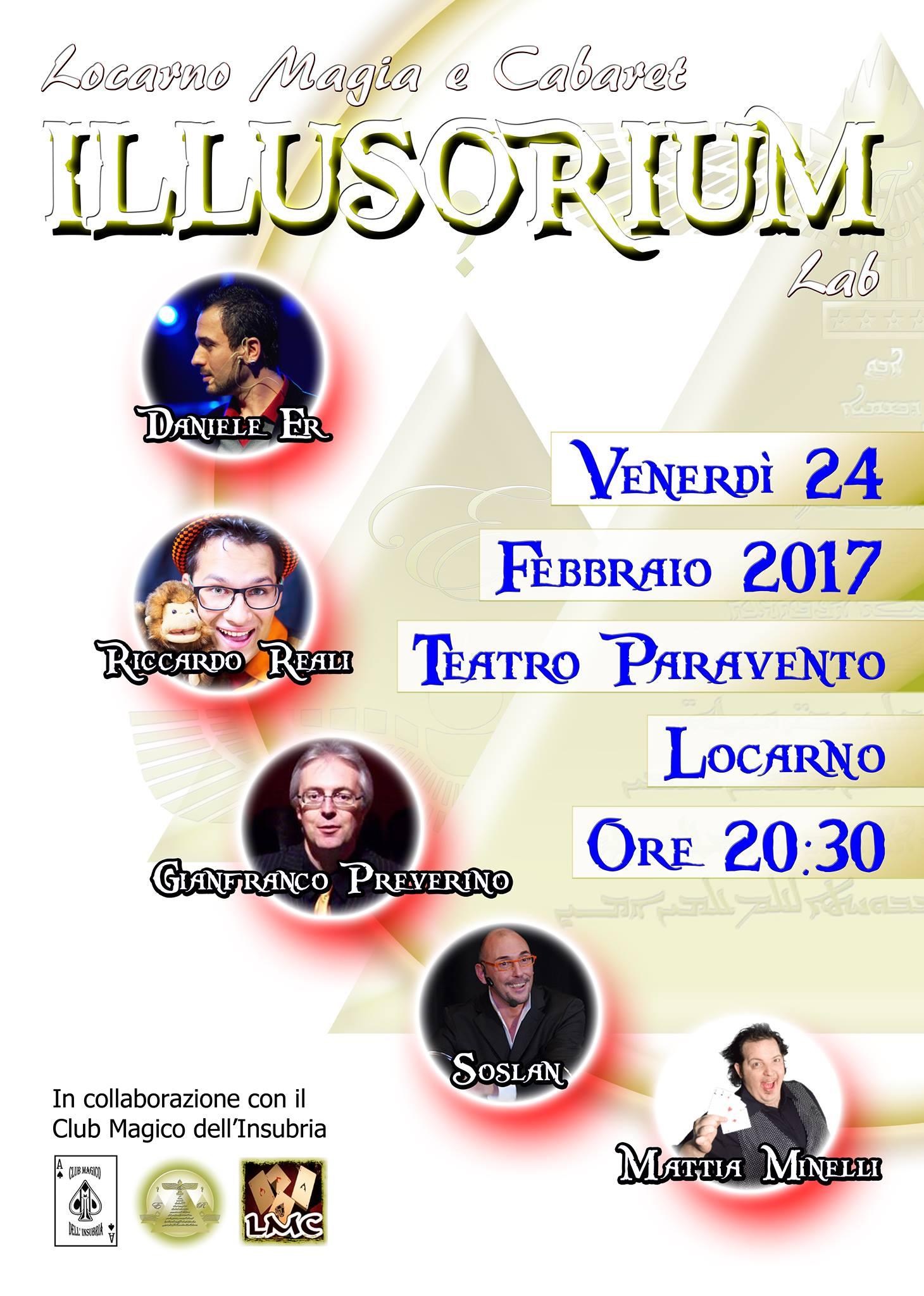 2422017, Locarno (CH), Illusorium Lab