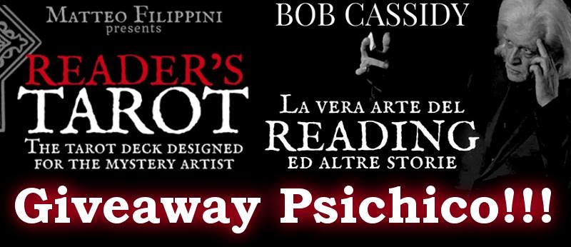 Giveaway 19: Libro Bob Cassidy e Tarocchi di Filippini