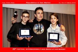 fidm2019 Gino Dalessandro, Gabriele Merli e Marco Mirko Corpo