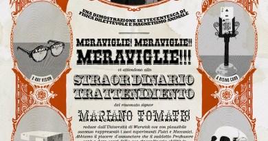 11/1/2020, Dronero (Cn), Mesmerized! con Mariano Tomatis