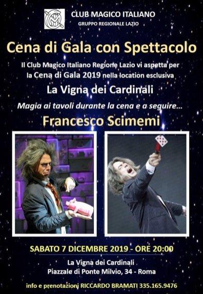 2019, Roma, Cena di Gala con Francesco Scimemi (1)