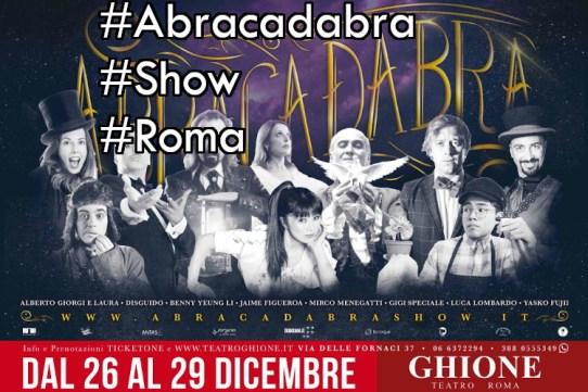 Abracadabra roma 2019