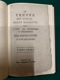 Le truffe del giuoco della bassetta Gianfranco Preverino (3)