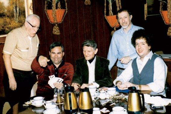 Unknown, David Solomon, Ed Marlo, Simon Aronson, Bill Malone, Chicago 1978
