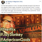 Jay Sankey: The American Gods' Hands