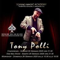 2020, Moncalieri (To), Tony Polli Conferenza, Spettacolo, Workshop