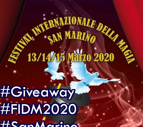 Giveaway 32: Vinci Buoni Pasto per San Marino! #FIDM2020