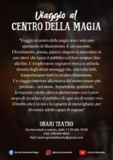 Enrico Marando Viaggio al centro della magia torino 2020 (1)