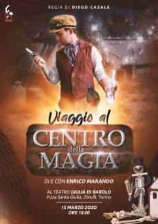 Enrico Marando Viaggio al centro della magia torino 2020 (2)