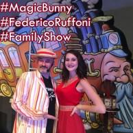 Federico Ruffoni Magic Bunny e Lisa Ruffoni instagram