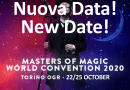 22-25/10/2020, Torino, Masters of Magic World Convention 2020 #MOM2020