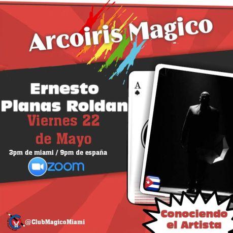 Ernesto Planas Conferenza Online Miami