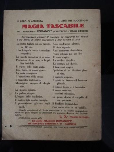 La magia nei libri - L'emulo di Bosco (1)