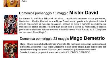 Museo della Magia – un maggio pieno di Magia!