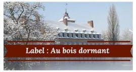 Label : Au bois dormant
