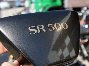 SR500 サイドカバーペイント